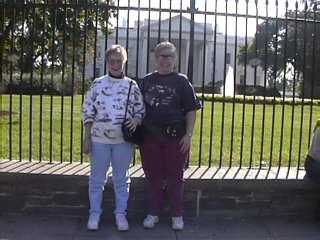 Nancy & Julie at the White House!